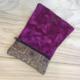 Carterita Natxo - Corcho estampado y Batik rosa