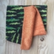 Toallas Multiusos Alejandra - Cocodrilo - bambu naranja