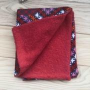 Wax estrellas y toalla roja