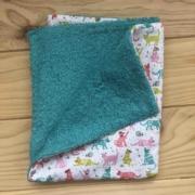 Gatetes - toalla turquesa