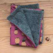 Piñas - toalla turquesa