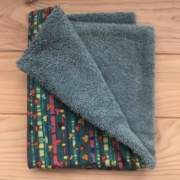 Multicolor - toalla turquesa